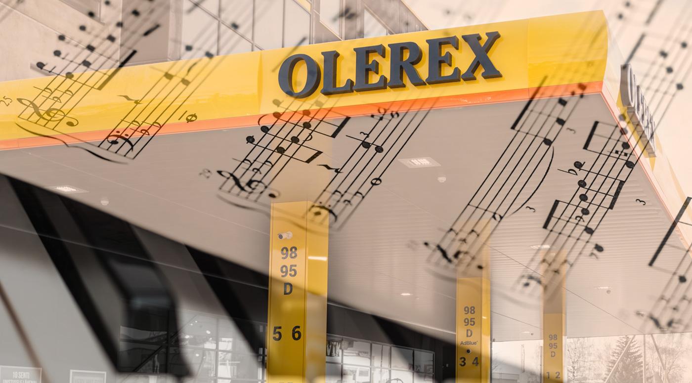 Olerex объявила конкурс на создание аудио-лого компании