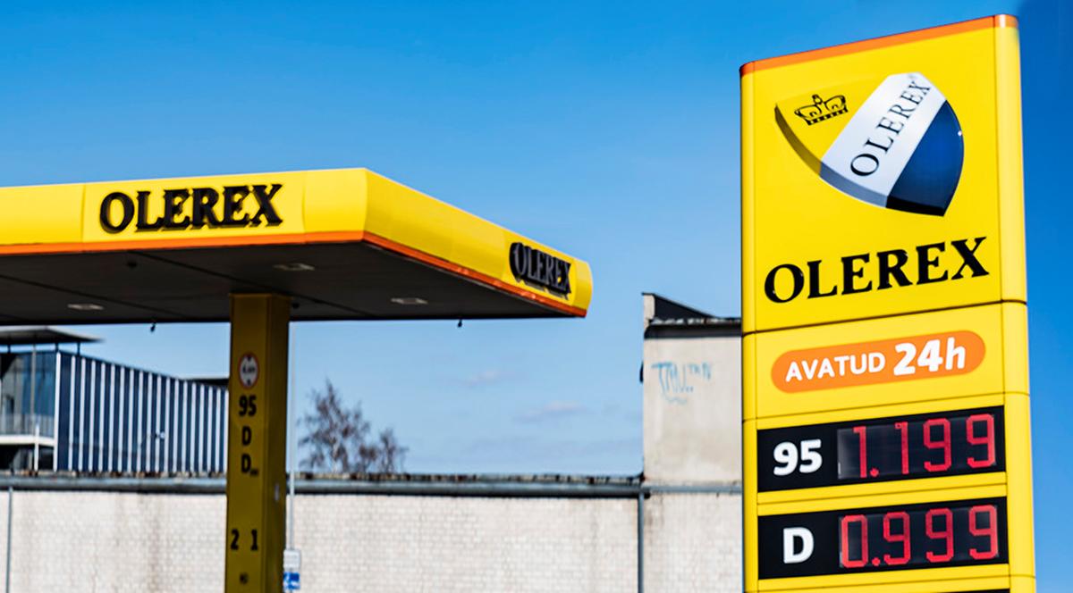 На заправках сети Olerex   дизель стоит меньше 1 евро за литр