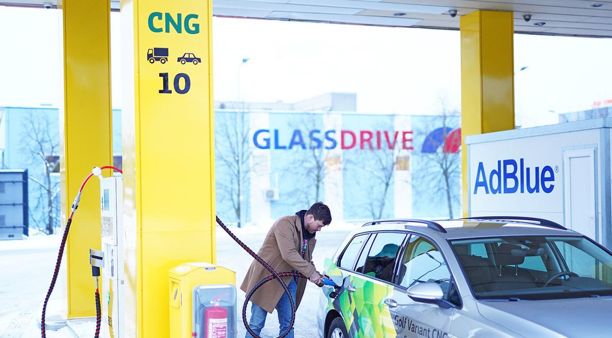 Olerex: открыта первая CNG-заправка в Таллинне