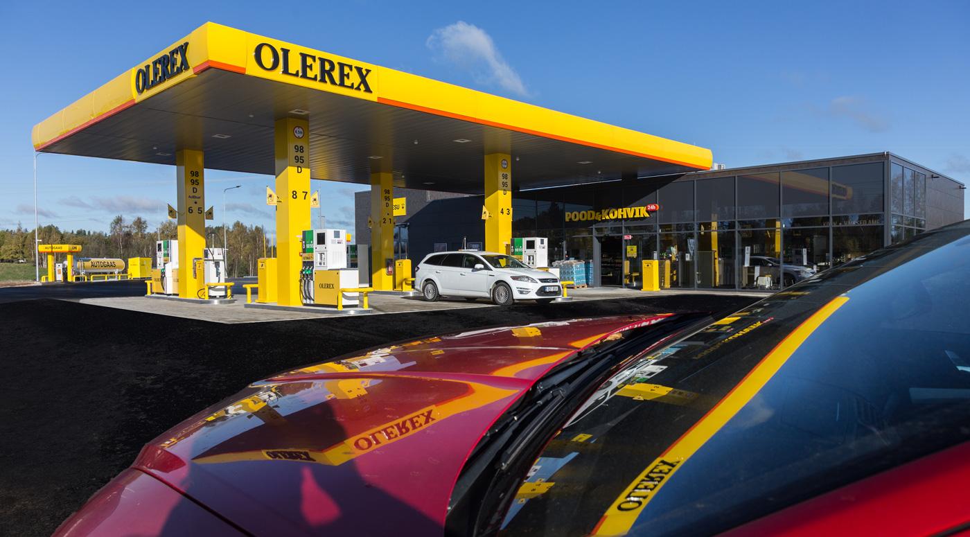Olerex строит новую заправку в Валга