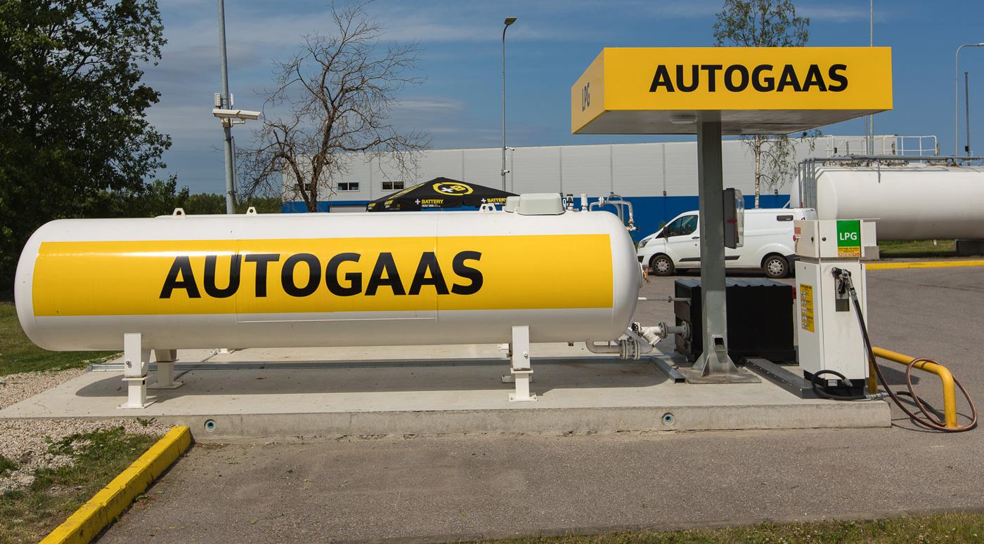 Компания Olerex расширила сеть заправок с автогазом LPG