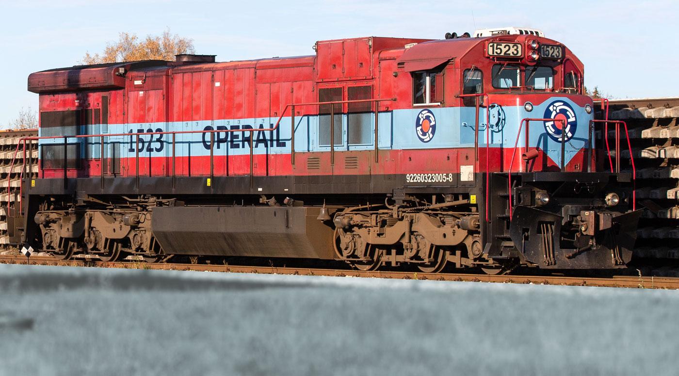 Operail начал строительство первого линейного СПГ-локомотива