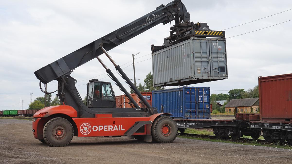 Operail:  Транспортировка зерна переносится на железную дорогу