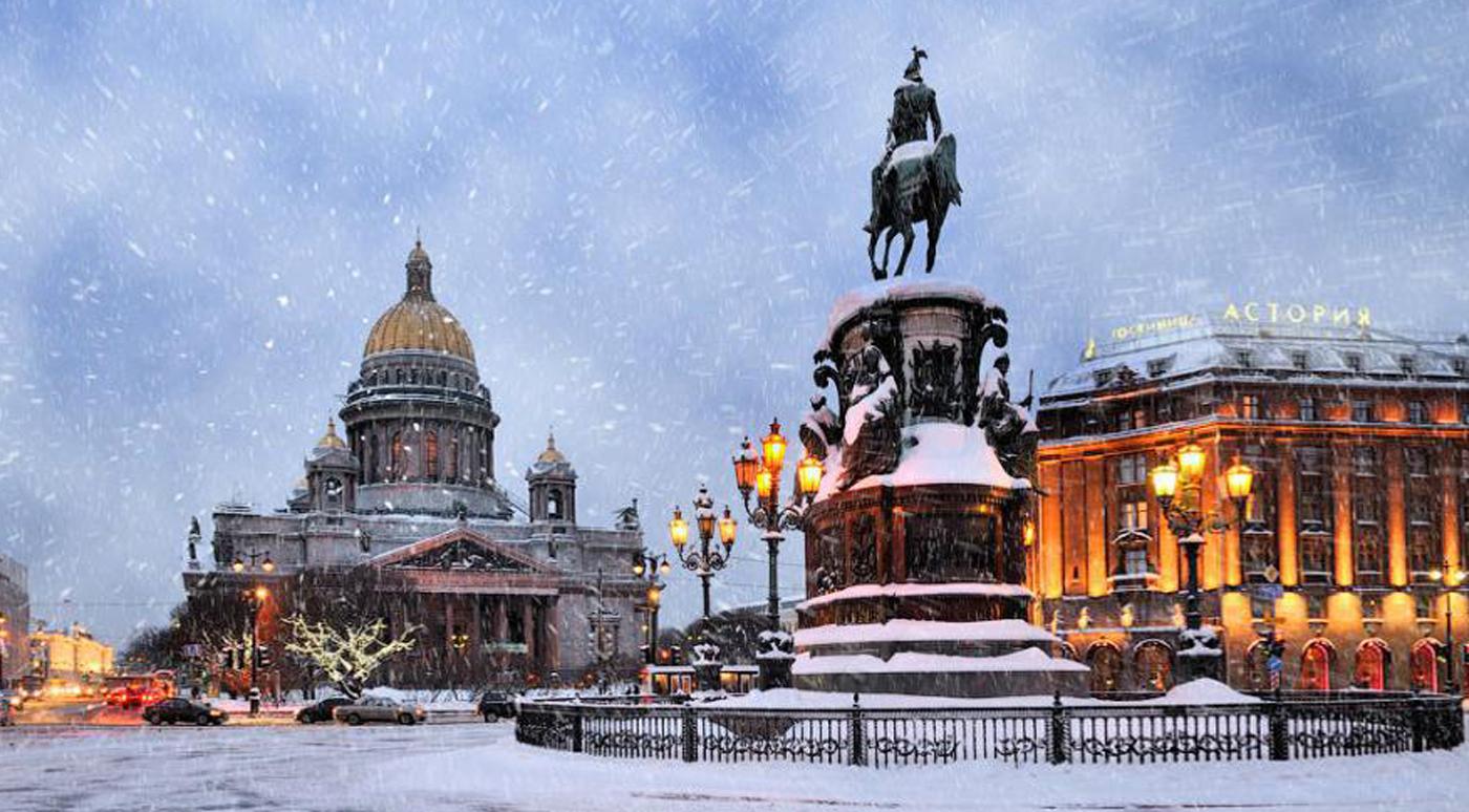 Зимой в Петербург больше всего индивидуальных туристов приехало из Таллинна