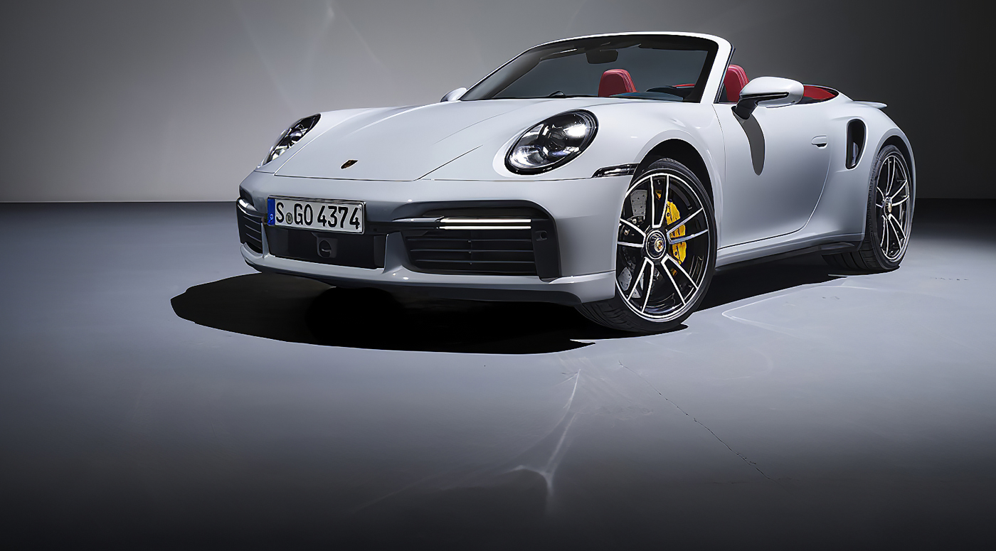 """Porsche представил новый 911 Turbo S с 650 """"лошадьми"""" под капотом"""