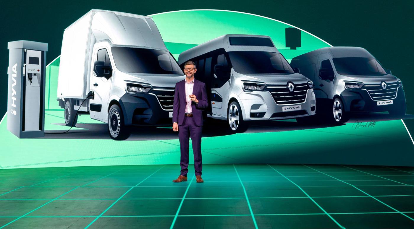 Зеленая инициатива Renault — фургоны на водородном топливе