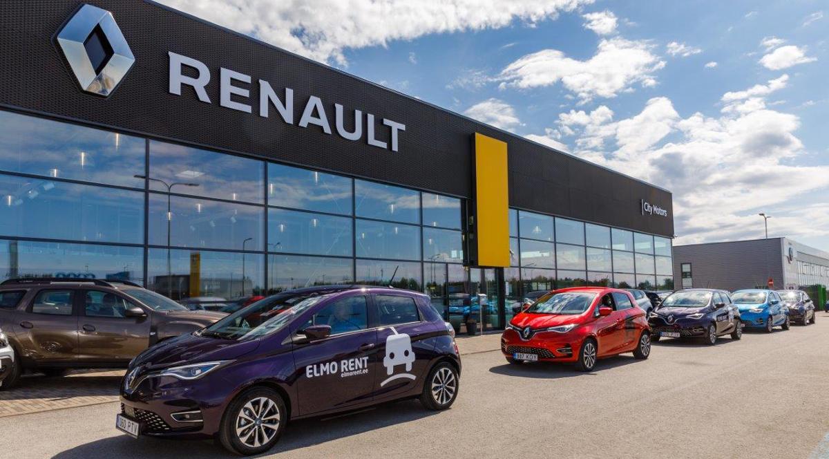 Первые в Эстонии Renault Zoe с самым большим пробегом на одной зарядке – в автопарке ELMO Rent
