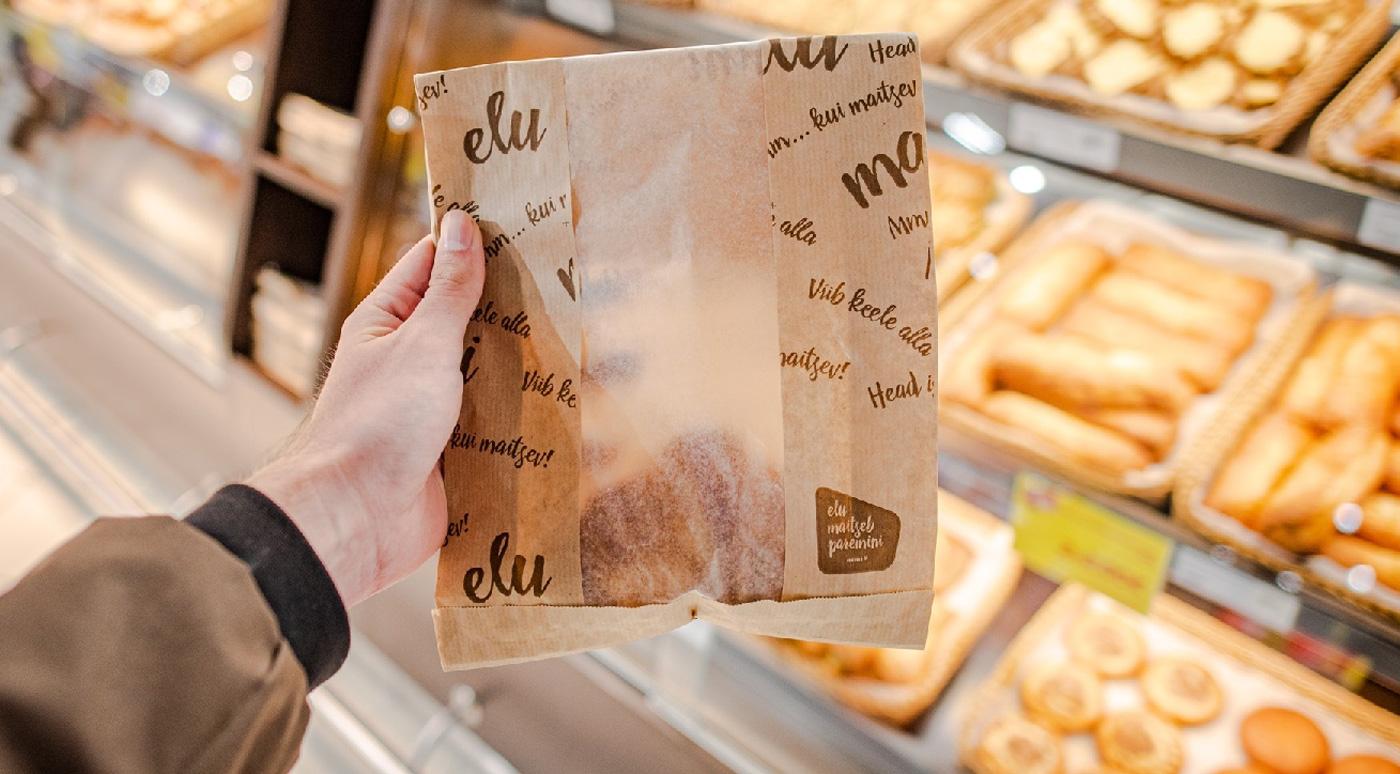 Rimi: новые бумажные пакеты для выпечки экономят 14 тонн пластика в год