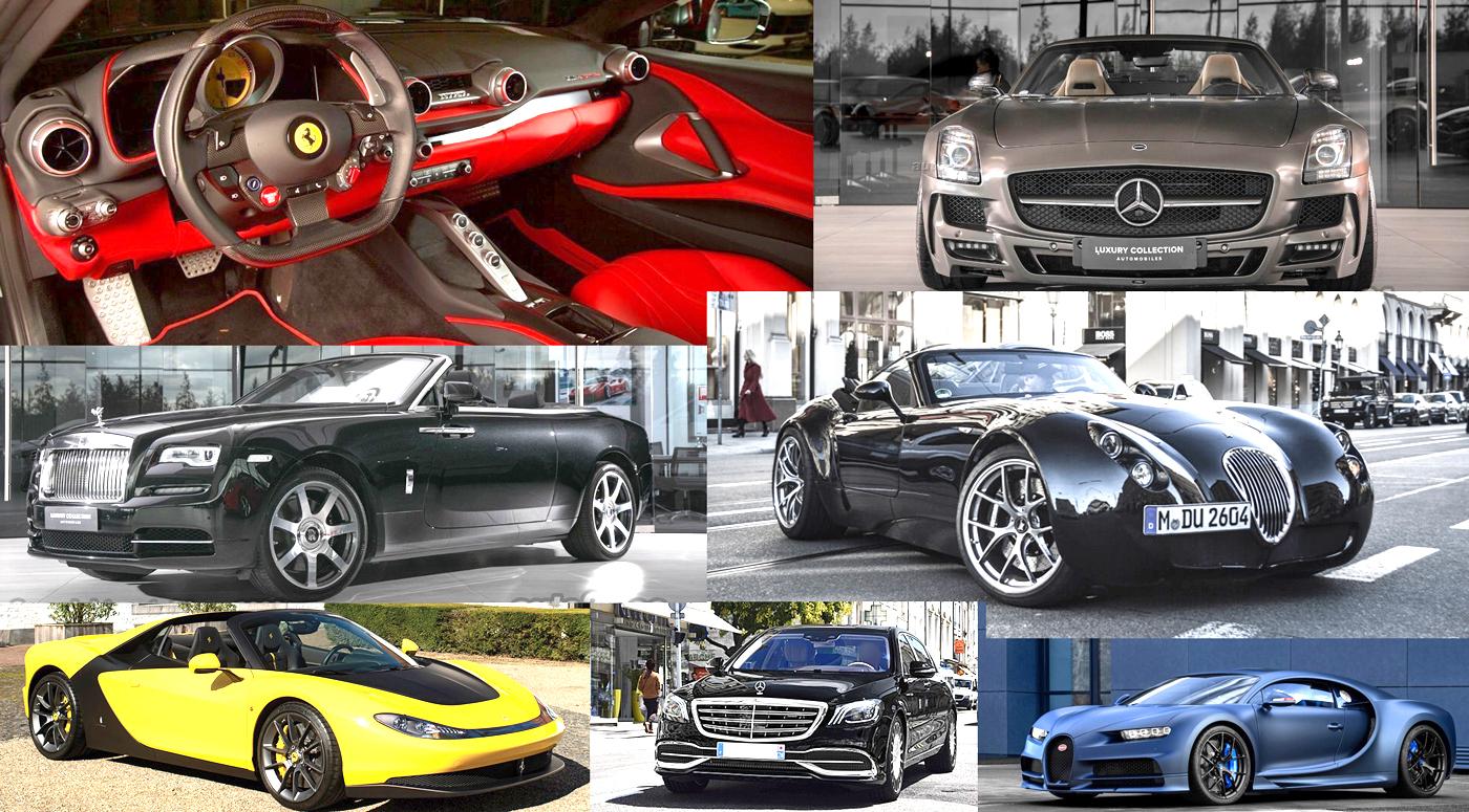 ТОП-5 самых дорогих авто: что продают от Эстонии до Украины?