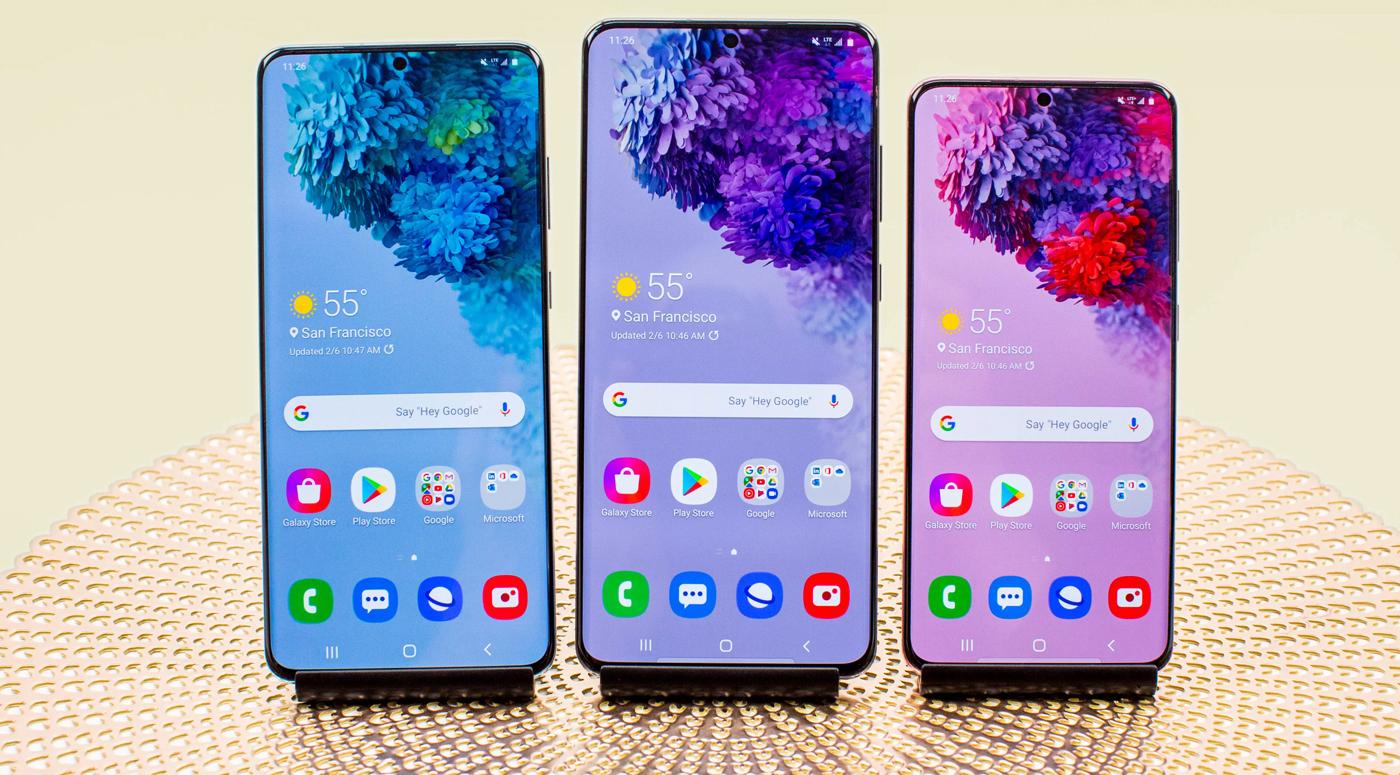 В Эстонии поступил в продажу новейший флагман – Samsung Galaxy S20