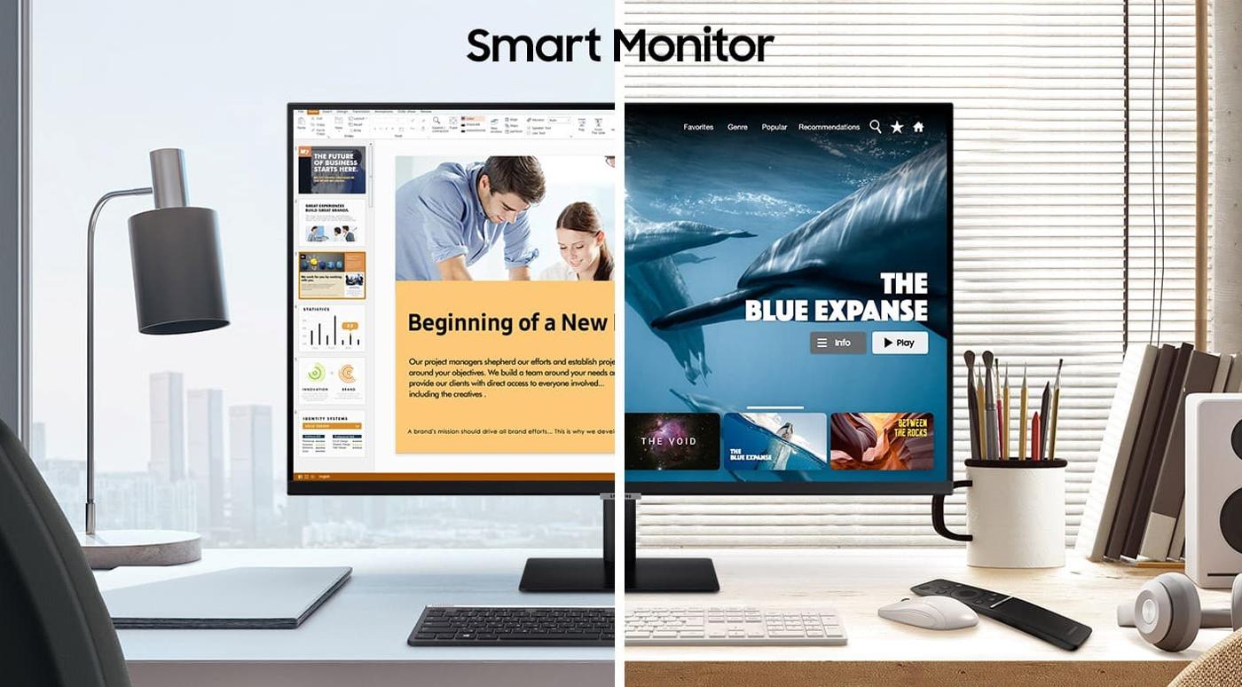 Samsung: Стримы Netflix и YouTube прямо на смарт-мониторе с пультом