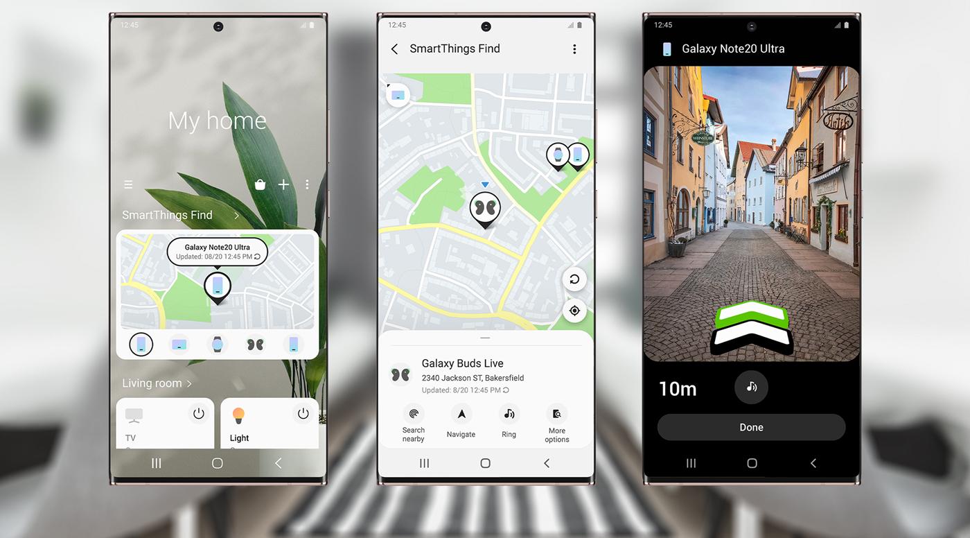 Samsung SmartThings Find  покажет местоположение ваших смарт-устройств