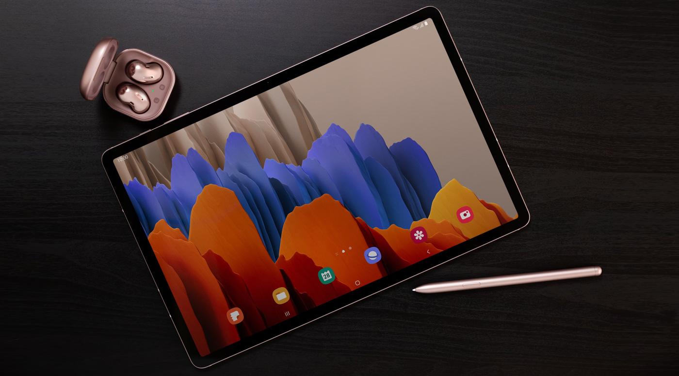 Samsung Galaxy Tab S7 и Tab S7+: мощные устройства для работы и игр