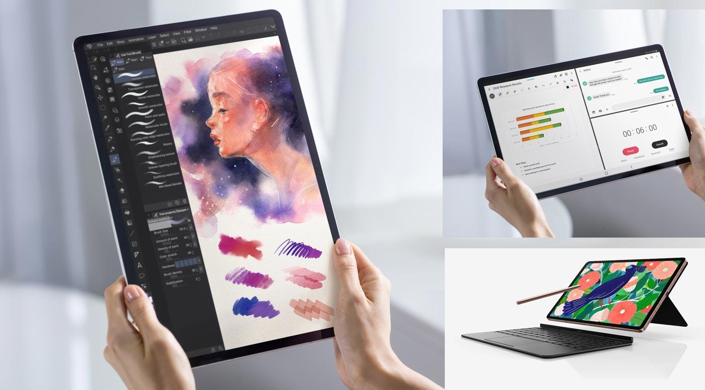 Как использовать планшет максимально эффективно: 7 советов от Samsung