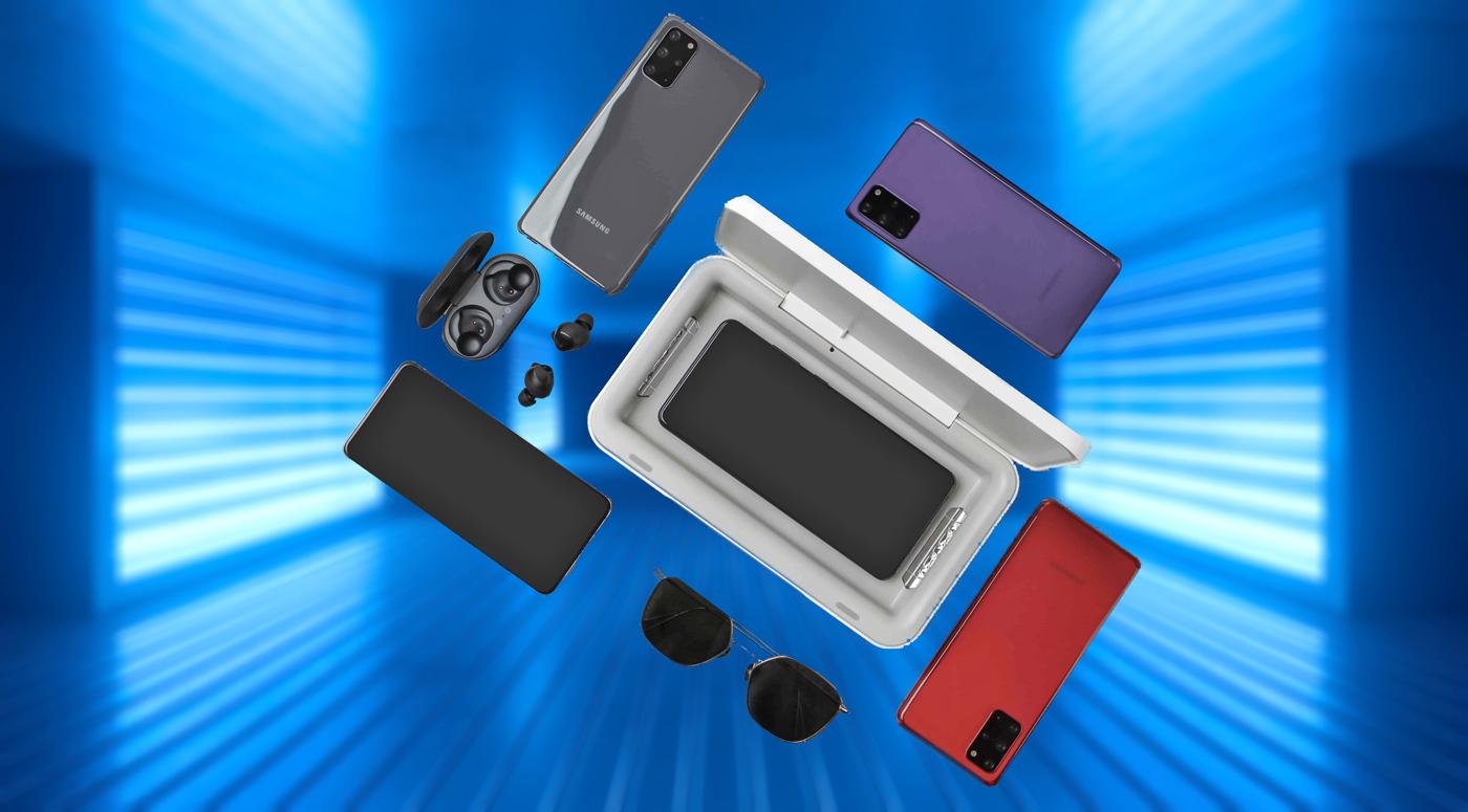 Samsung: новое устройство для UV-дезинфекции телефонов теперь продается и в Эстонии