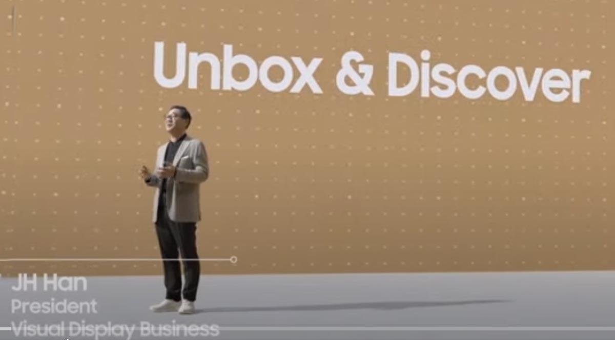 Samsung представил новейшие телевизоры и мониторы