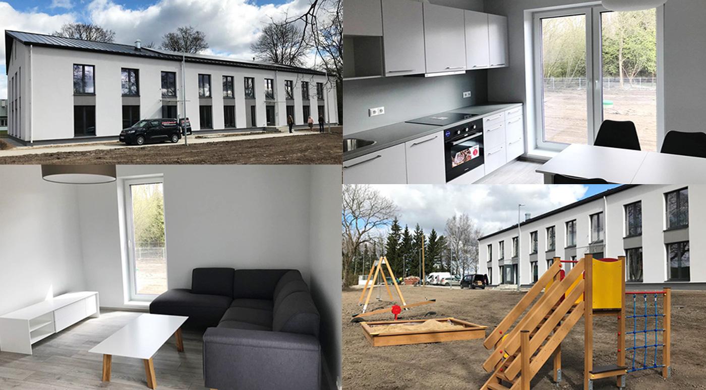 Построенный в Вильяндимаа арендный дом поспособствует местному трудоустройству