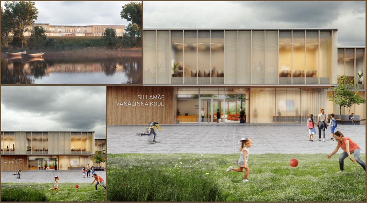 Победитель архитектурного конкурса Ваналиннаской школы в Силламяэ назван!
