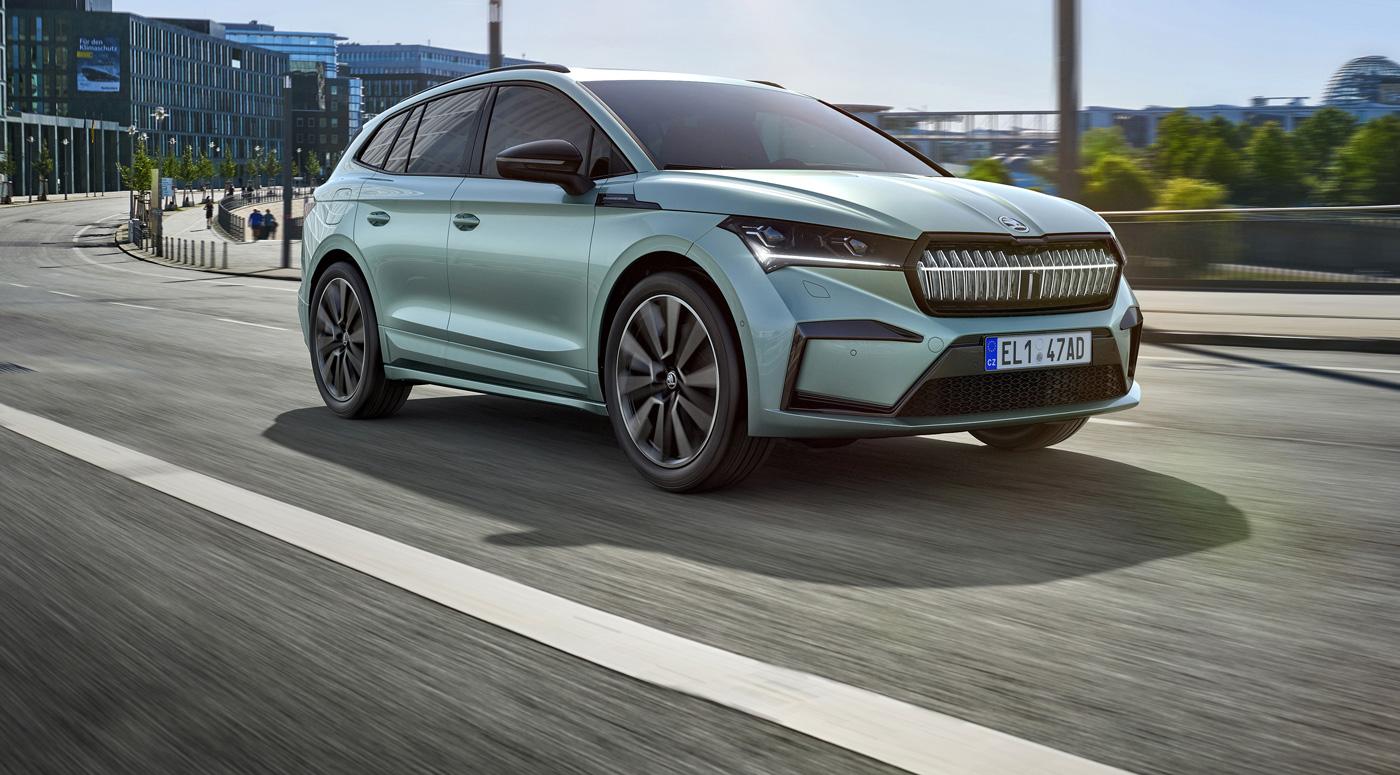 Škoda ENYAQ: электро-кроссовер скоро прибудет в Эстонию