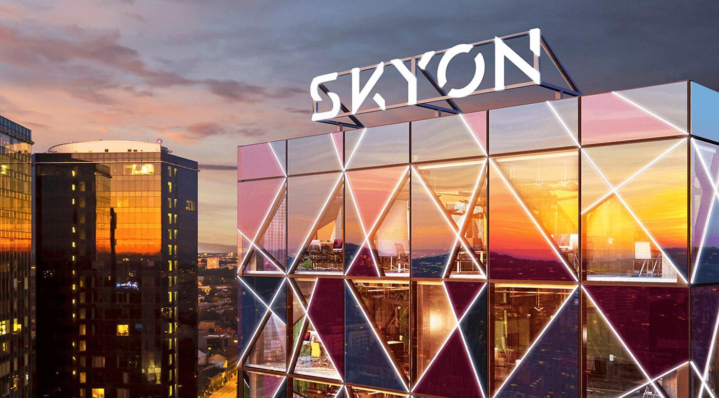 SKYON: 75% офисов небоскреба на Маакри уже нашли арендаторов