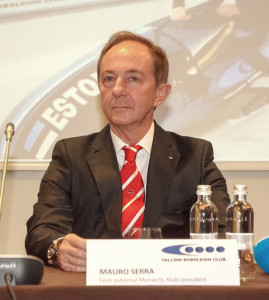 Мауро Серра - президент клуба