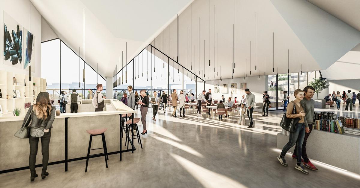 Tartu Kaubamaja: Завершен эскизный проект IV этажа торгового центра