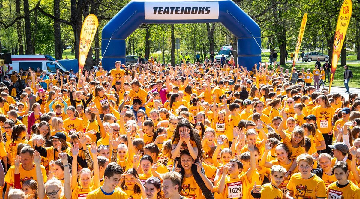 Европейскую неделю спорта в Эстонии откроет Благотворительная Эстафета