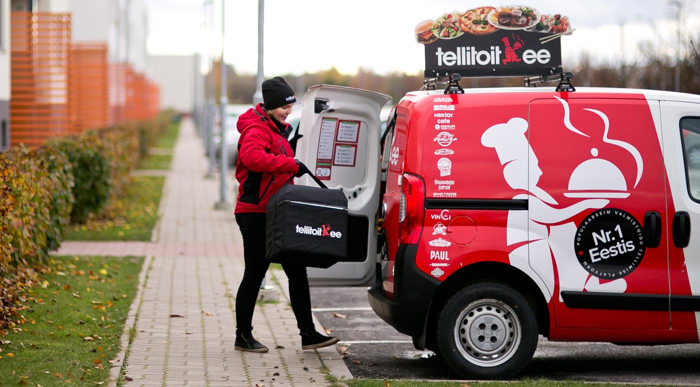 Tellitoit.ee доставляет продукты питания из Taluturg домой в тот же день
