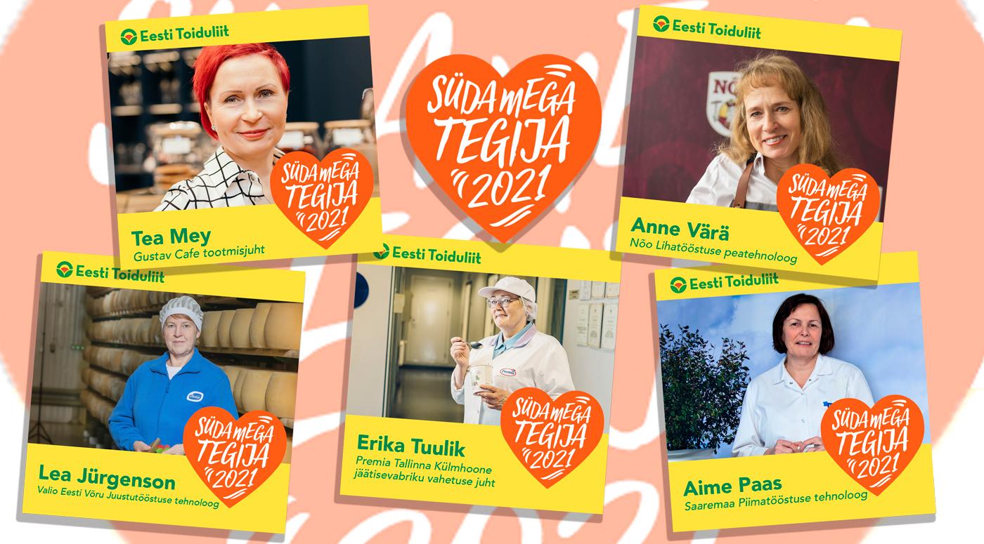 Проголосуйте: предприятия пищевой промышленности Эстонии выбирают «Работающих с душой»