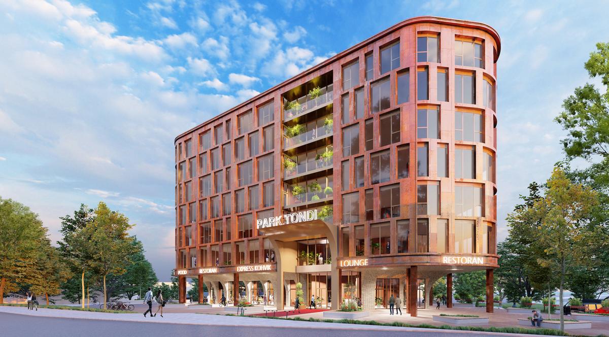 В историческом городке Тонди появится новое офисное здание