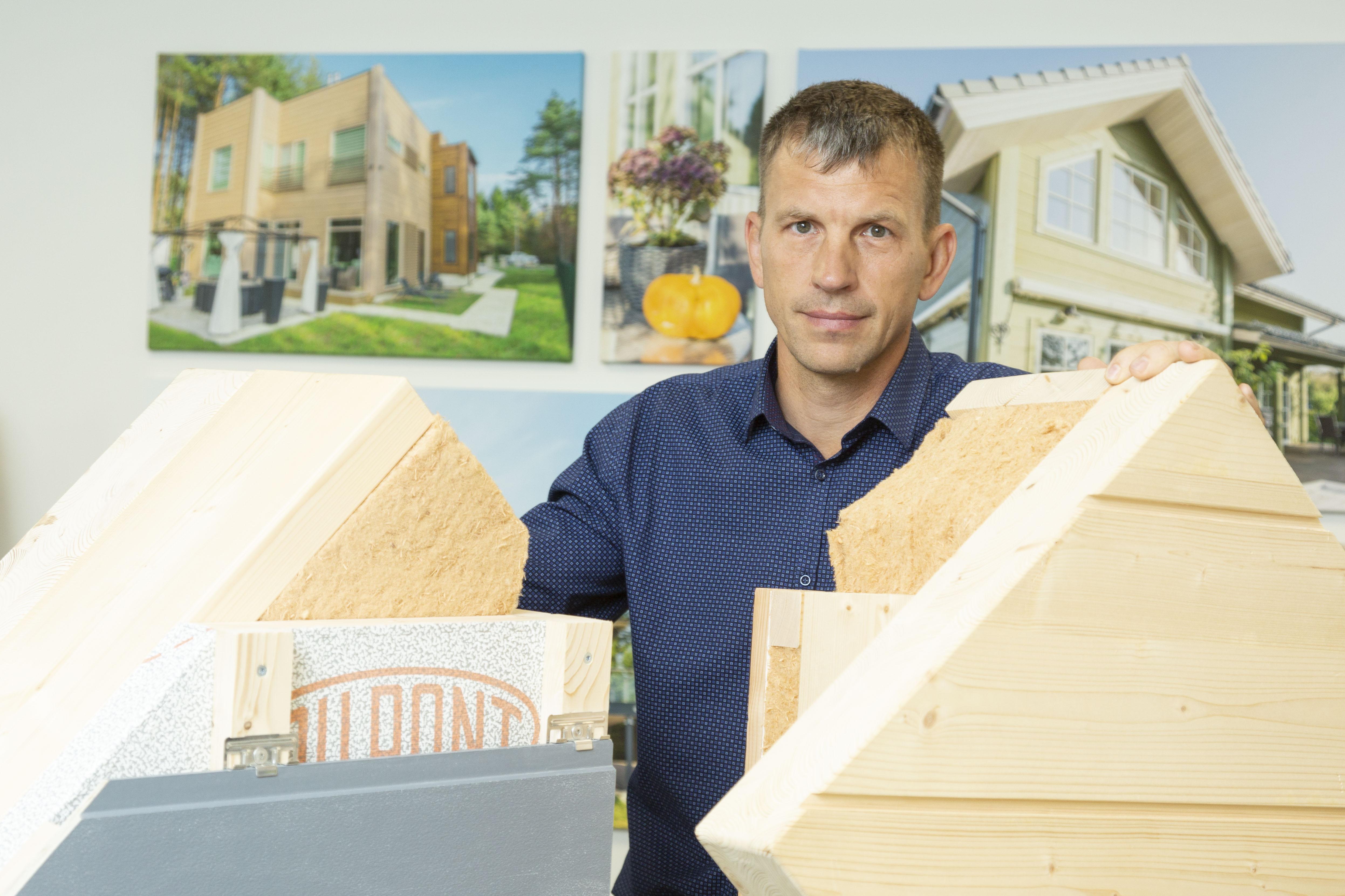 Finnlog будет продавать в Финляндии 50 домов в год