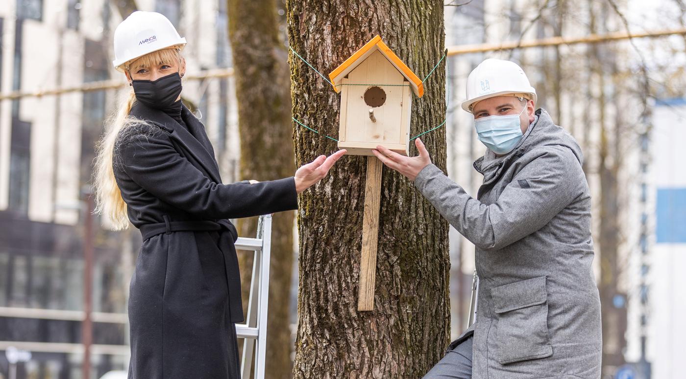100 новых семей поселятся в городоке Ülemiste City