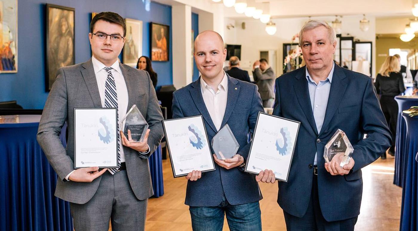 Звания «Умный промышленник» удостоились  компании VKG и Adven Eesti