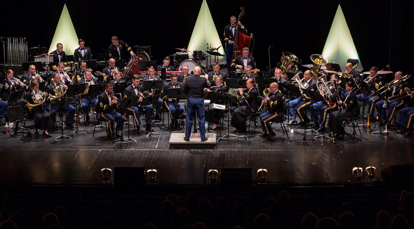 АФИША: Музыканты Оркестра сухопутных войск США в Европе привезут в Эстонию оригинальную и разностороннюю музыку