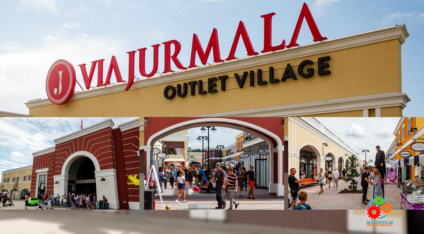 Via Jurmala Outlet Village:  открылся крупнейший аутлет-городок