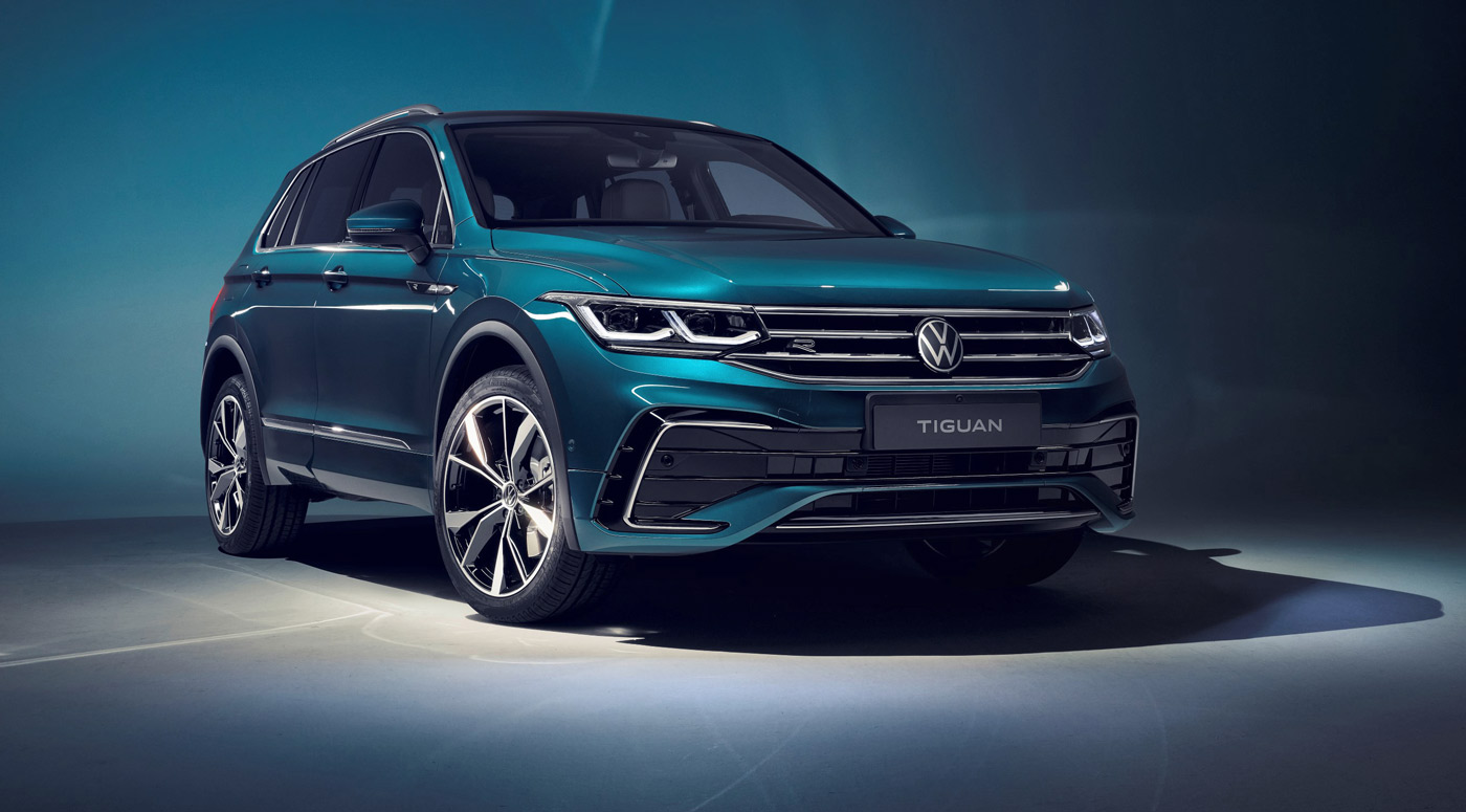 Volkswagen: новый Tiguan теперь доступен для предзаказа