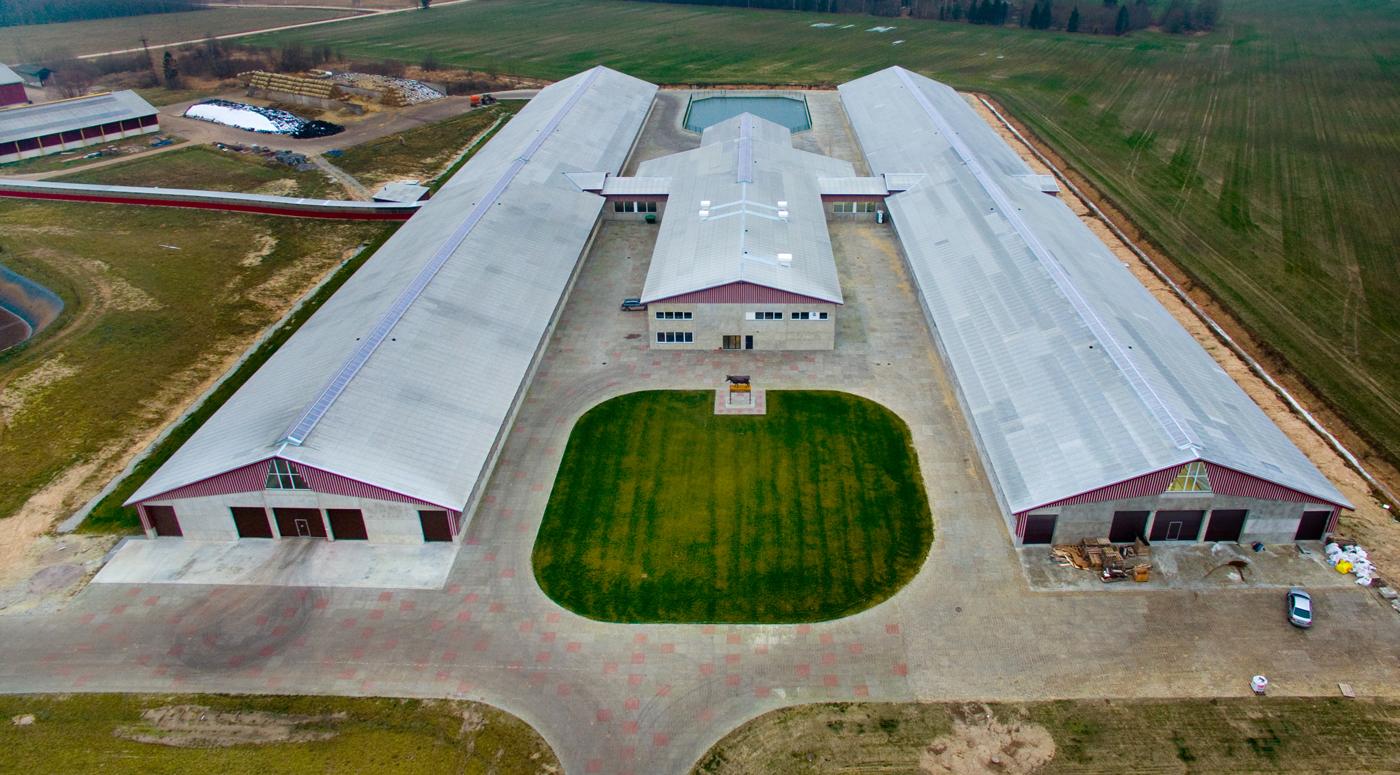 Mapri Ehitus: В Пярнумаа построена бетонная ферма, которая простоит как минимум сто лет