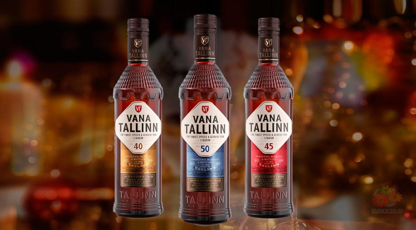 Легендарный ликер Vana Tallinn теперь в новом оформлении