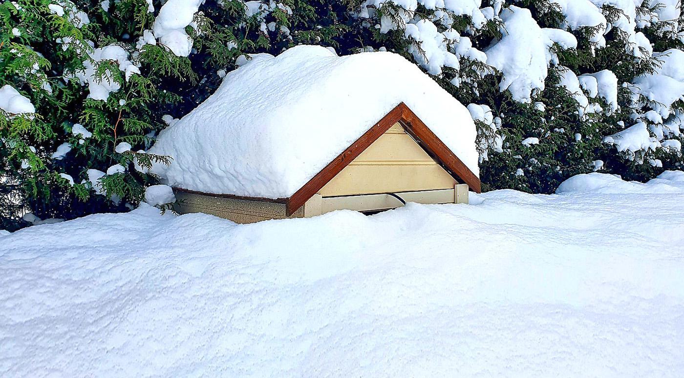 PZU Kindlustus: сильный снегопад угрожает крышам