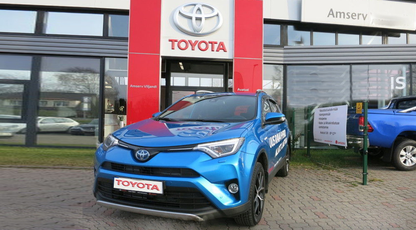 Amserv: Продажи Toyota  выросли на 10% до 147 млн евро