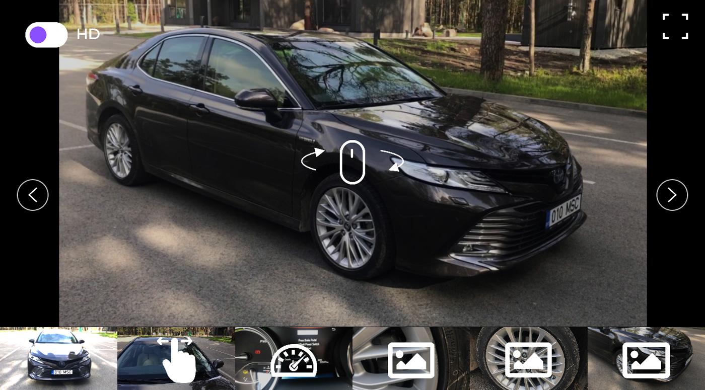 Впервые в Эстонии Amserv позволяет дигитально оценивать повреждения автомобиля