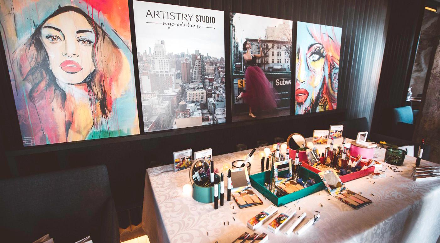 Amway Artistry Studio: новая коллекция – смелые оттенки