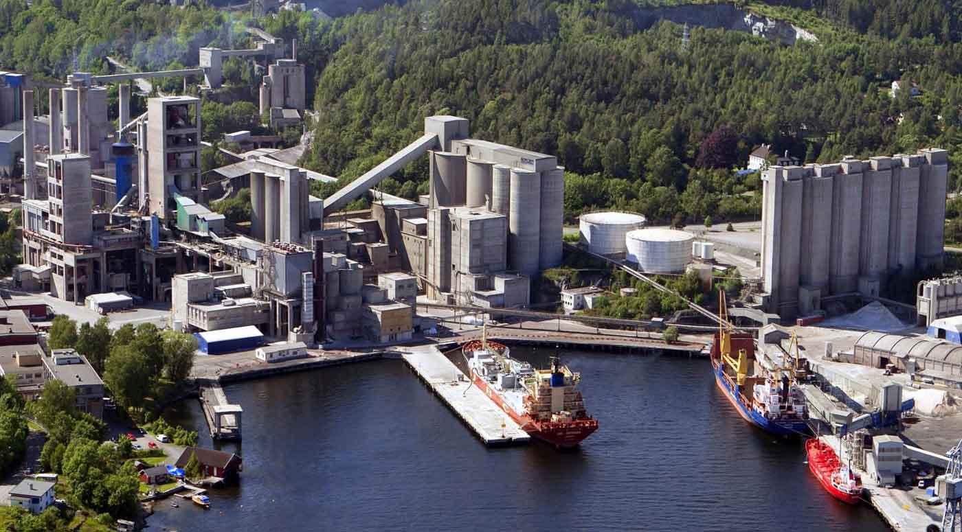 Heidelberg Cement установит первое в мире CCS сооружение по сбору углекислого газа