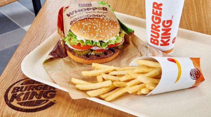 Burger King introduces new logo