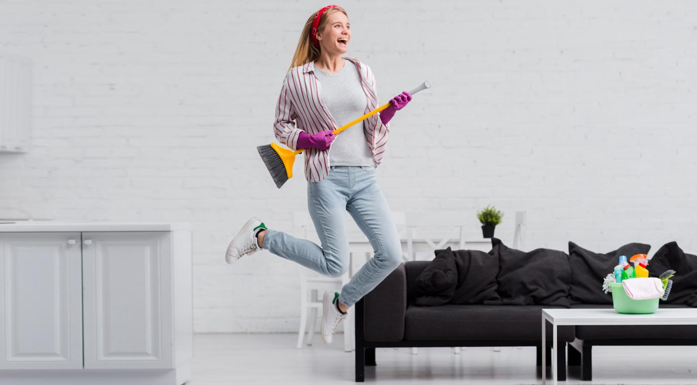 Исследование: каждый четвертый стал убираться дома гораздо чаще