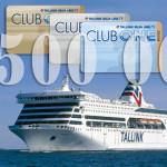 Tallink Club One: 2,5 миллиона человек присоединились к программе лояльности