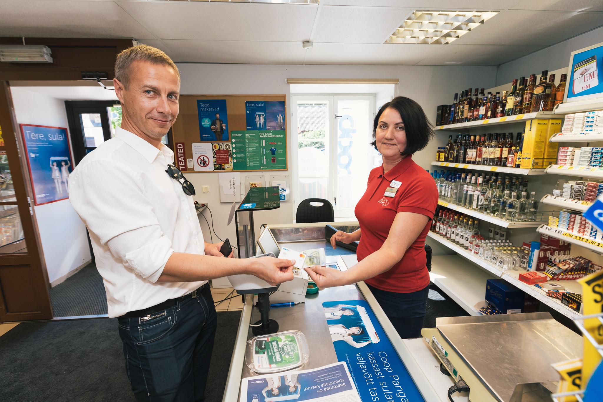 В магазинах Coop клиентам Coop Pank — более выгодные предложения