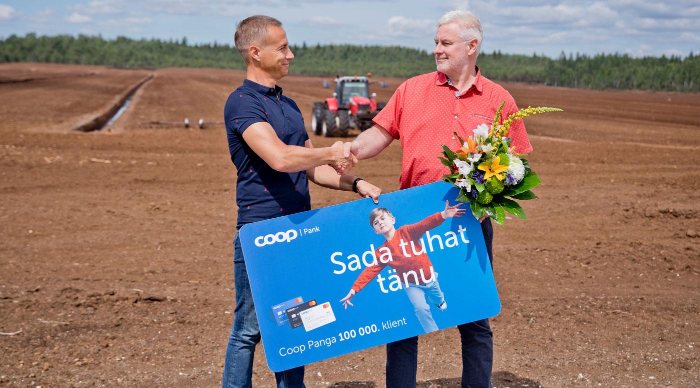 К Coop Pank присоединился 100 000-й клиент