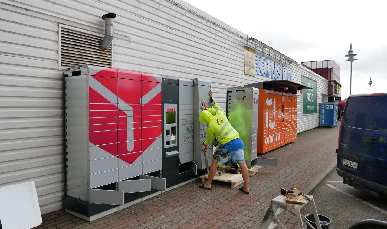 Компания DPD приступила к установке новых посылочных автоматов