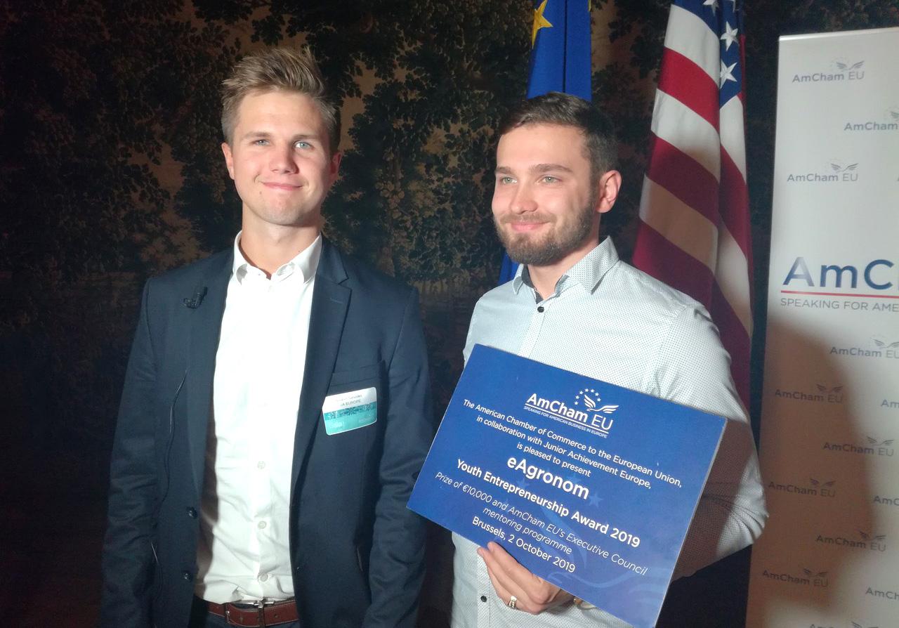 AmCham: эстонский стартап eAgronom — победитель конкурса предпринимательства